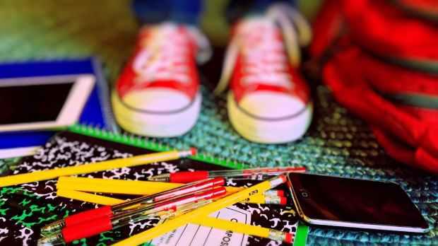 close up of multi colored pencils