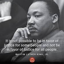 justice for all mlk